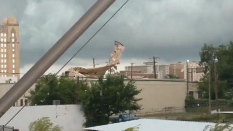 EF-1 tornado hit Arlington; 2 EF-0 twisters at Eagle Mountain Lake, north Fort Worth