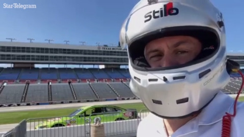 Watch: Holding a GoPro in the back of an IndyCar at 170 mph is harder than it looks