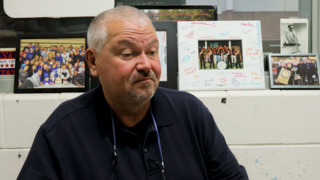 """'The love and power of music."""" Lafayette high school band director Chuck Smith"""