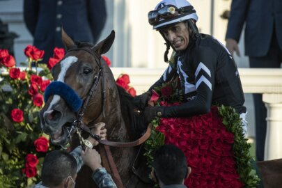 'Come and get me': John Velazquez on the final stretch of his winning Kentucky Derby ride