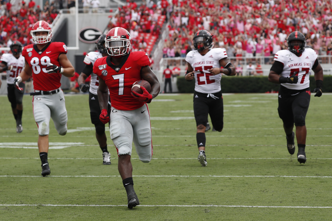 Live updates from Kentucky vs. Georgia college football in Athens