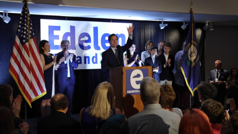 'We will govern again.' Democrat Adam Edelen concedes with a promise