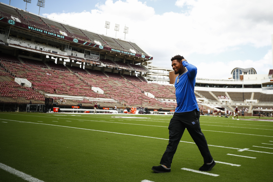 Live updates from Kentucky-Mississippi State football in Starkville