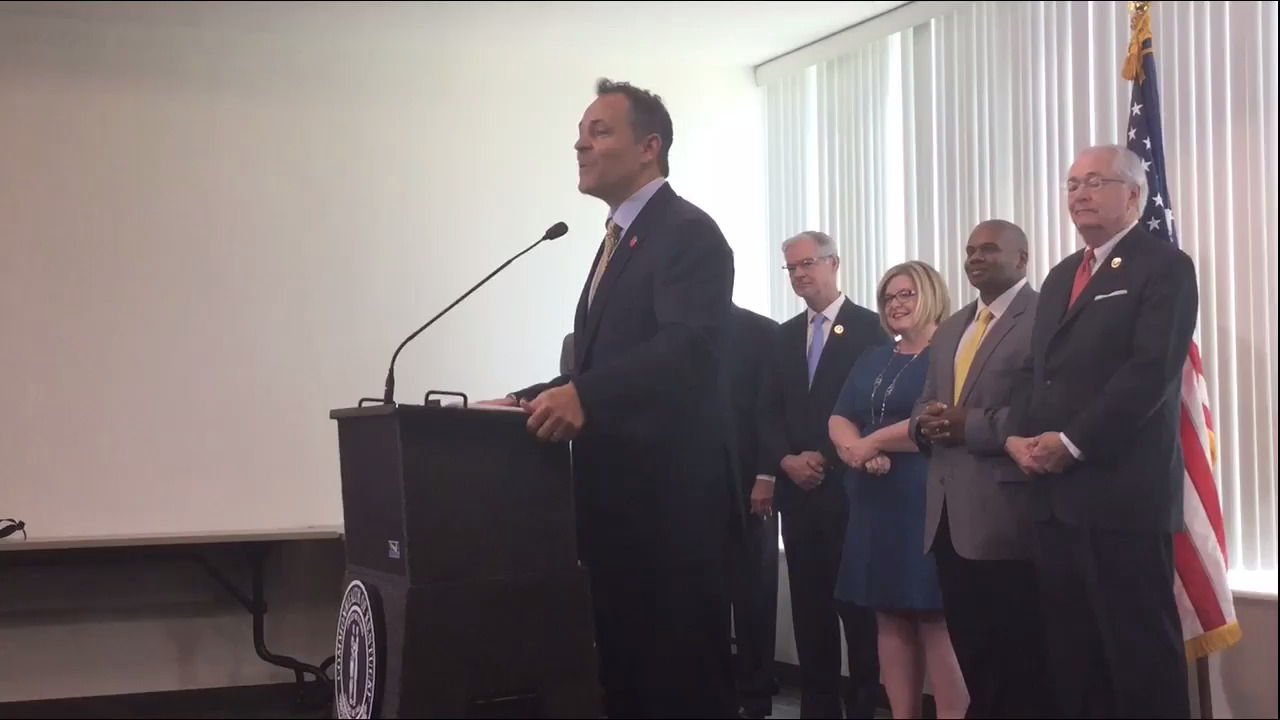 New poll shows Bevin becoming more unpopular