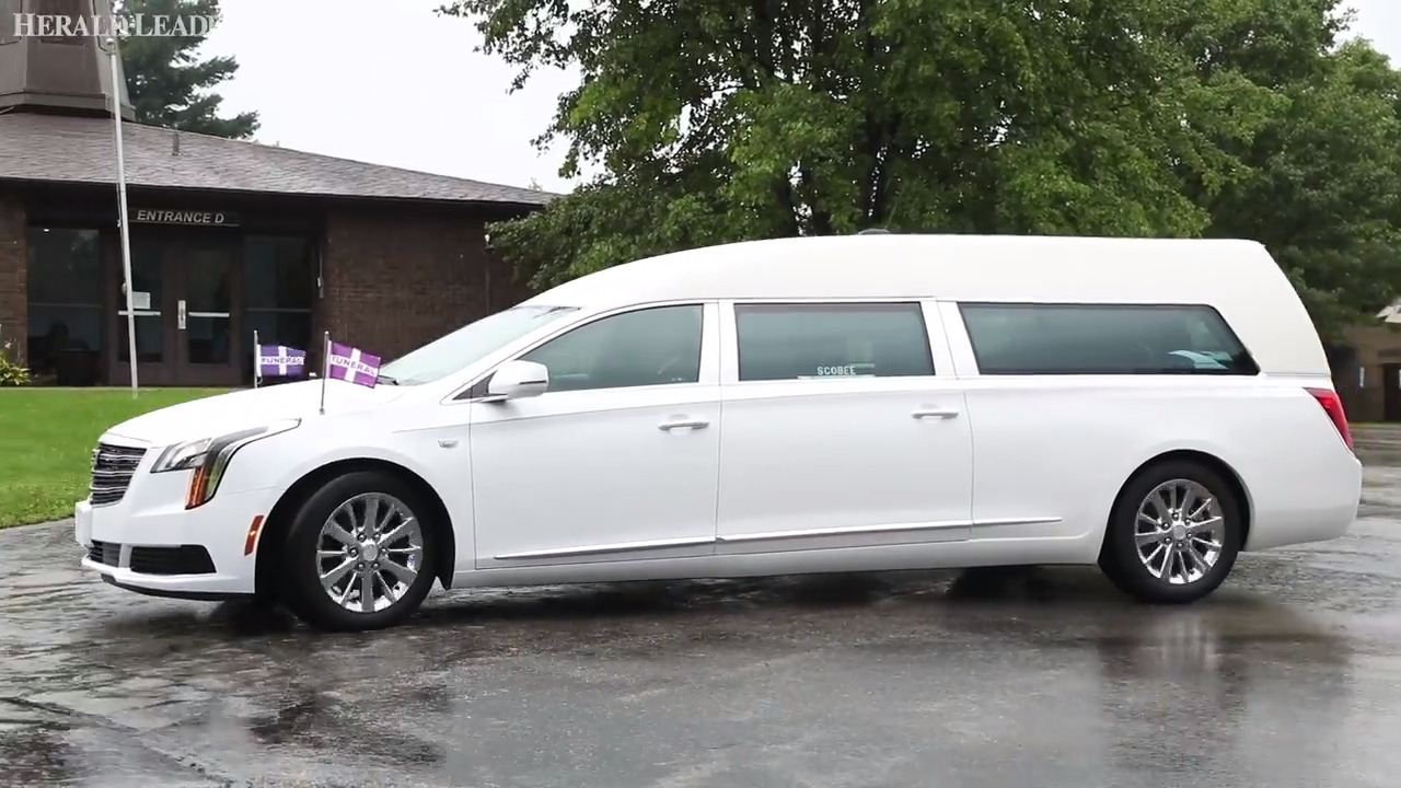 Hearse carries 4-year-old Marco Shemwell to cemetery after funeral