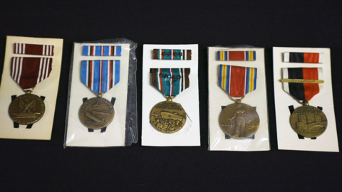 Do you know who these World War II medals belong to? The state needs your help.