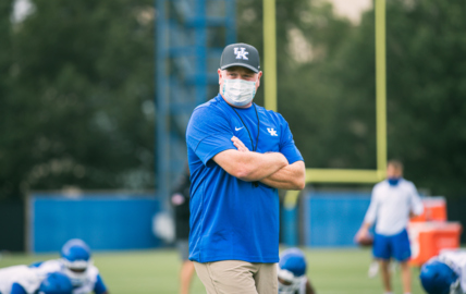 Will UK football coach Mark Stoops make COVID-19 numbers public?