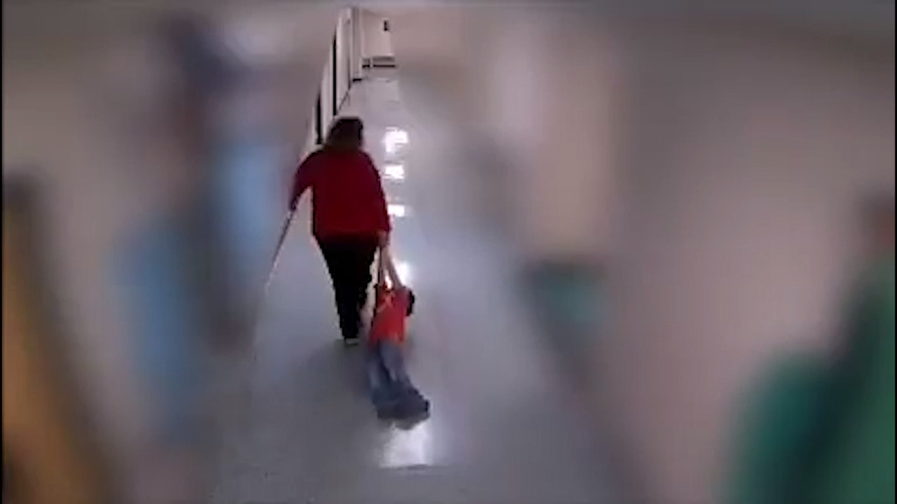 Teacher seen on video dragging boy with autism down hall in Kentucky will avoid prison