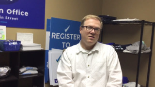 Gay man who was denied marriage license explains his political campaign