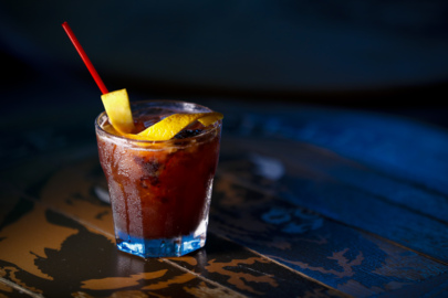 Old fashioned at Bluegrass Tavern