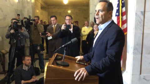 As a last act, Gov. Matt Bevin finally does the right thing