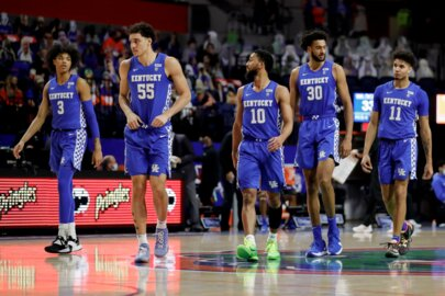 What did UK basketball players do during COVID-19 pause?