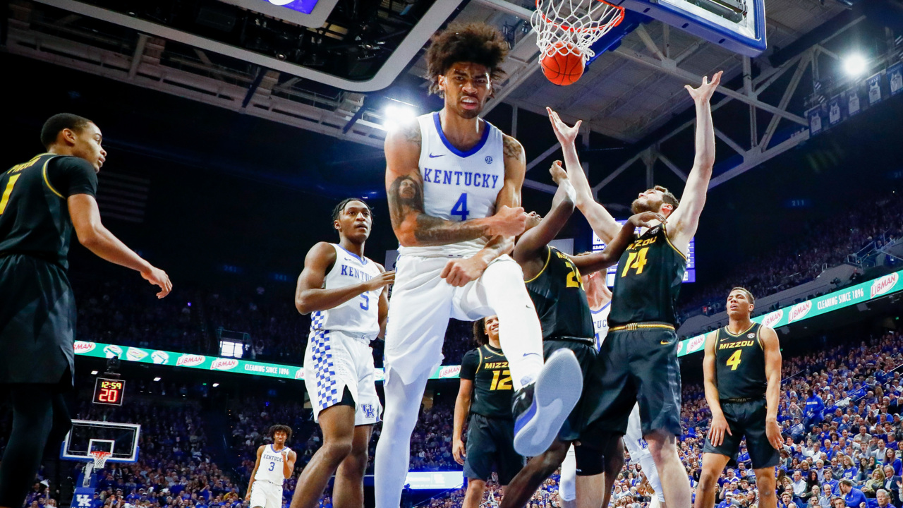 Nick Richards stars as Kentucky opens SEC play with victory | Lexington  Herald Leader