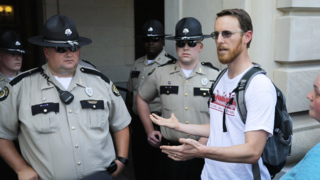 Watch: Frustration as Poor People's Campaign has limited access to Kentucky Capitol