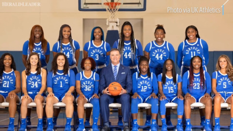 Snapshots from UK Hoops photo day