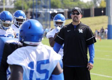 UK defensive coordinator encouraged with progress