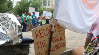 Immigrant families remain separated. So Lexington residents protested.