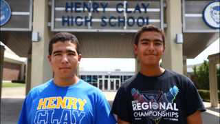 Henry Clay brothers scored perfect on ACT, explain how to take test
