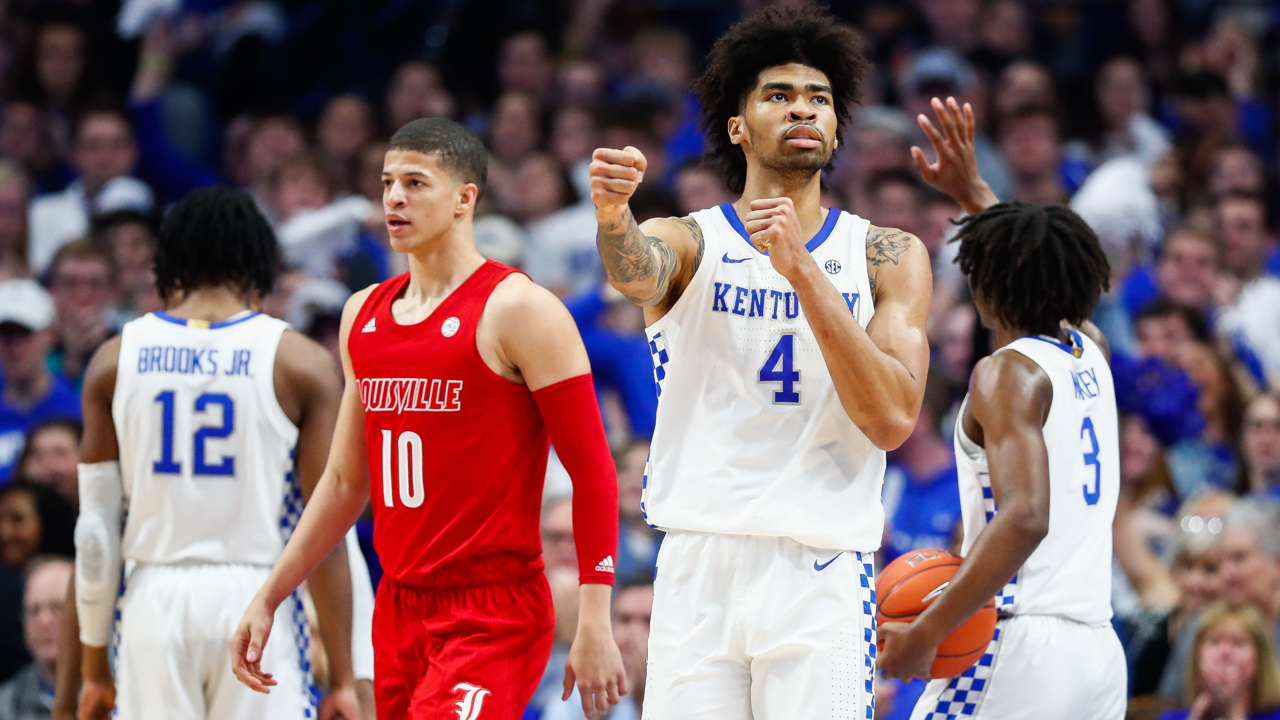 Kentucky Up Louisville Down In College Basketball Rankings