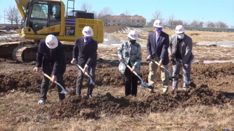 UK breaks ground on new building in Coldstream Research Campus