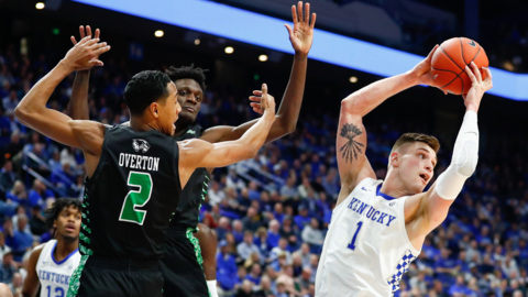 UK's Nate Sestina after Utah Valley game: 'A win's a win'