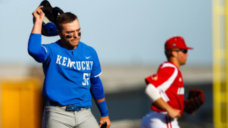 Photo slideshow: Louisville hands UK baseball tough loss to split season series