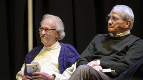 Ed McClanahan, Gurney Norman keep fans laughing at Kentucky Writers Hall of Fame.