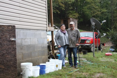 'You pray for rain:' How one Eastern Kentucky family copes with unreliable water service.