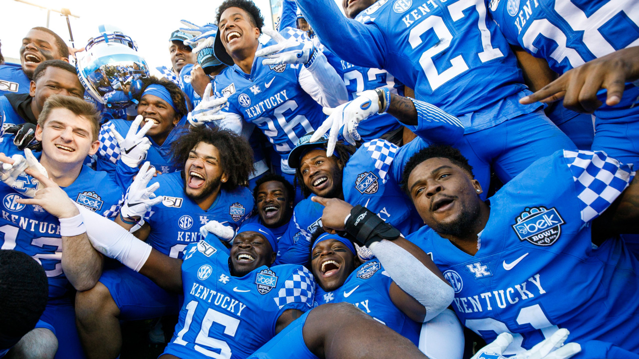 Impressions from Kentucky football's Belk Bowl win ...