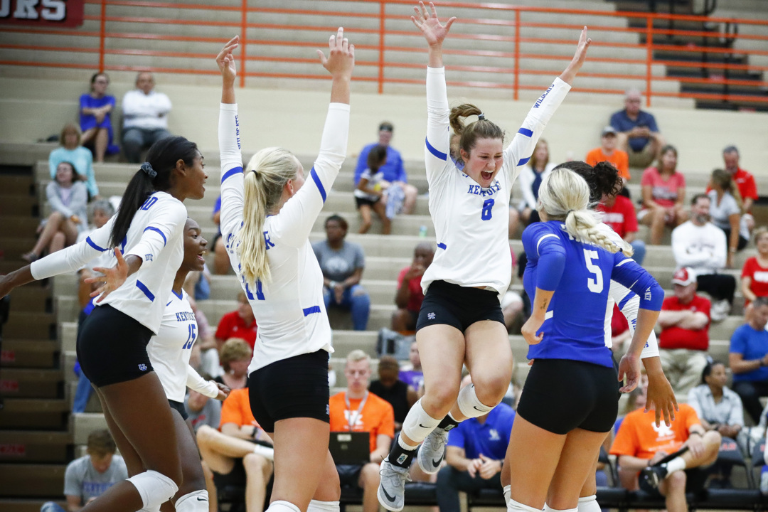 A good cause. A fast start. A top-notch transfer from Duke. Hello, UK volleyball.