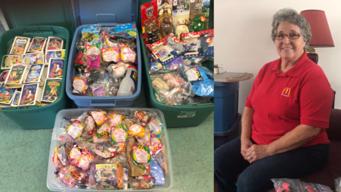 This Ky. woman has collected every Happy Meal toy at her McDonald's since 1979