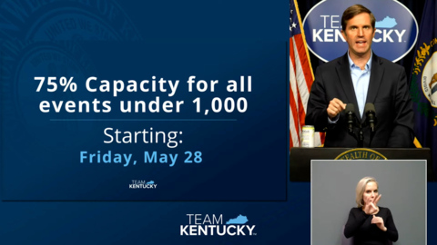 Beshear announces capacity increases for most Kentucky businesses