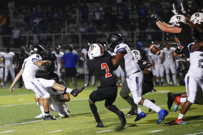 Photo slideshow: North Hardin defeats Frederick Douglass 19-17
