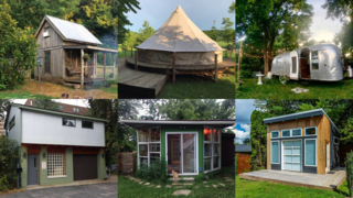 10 quirky Airbnb rentals in the area including treehouse, yurt, tiny houses