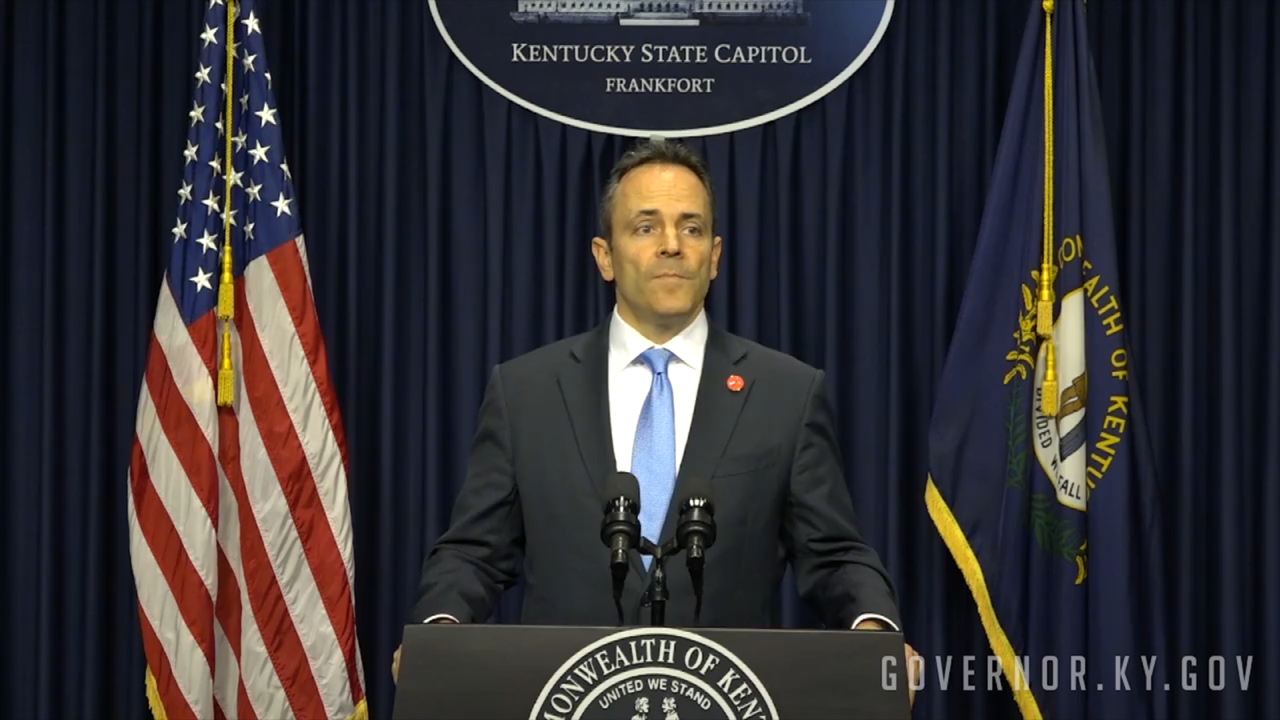 Bevin calls surprise special session. Two new pension bills introduced after 11 p.m.