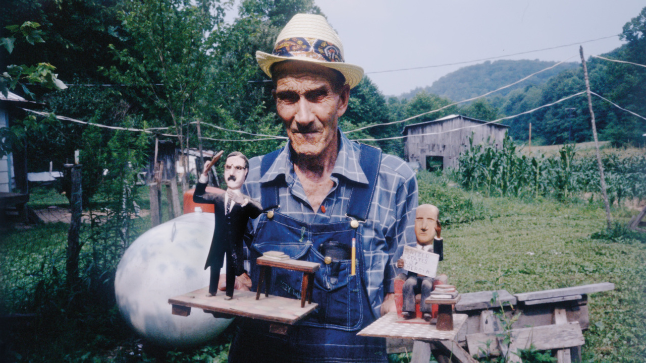 'Way out people, way out there.' Rediscovering the South's quirky folk artists.