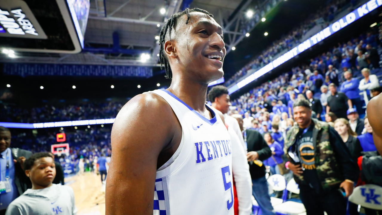 Kentucky basketball heads to Arkansas. Here's what the Cats talked about Friday.