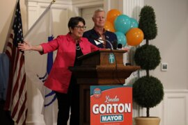 Linda Gorton envisions an 'innovative ... community' that 'excludes no one.'