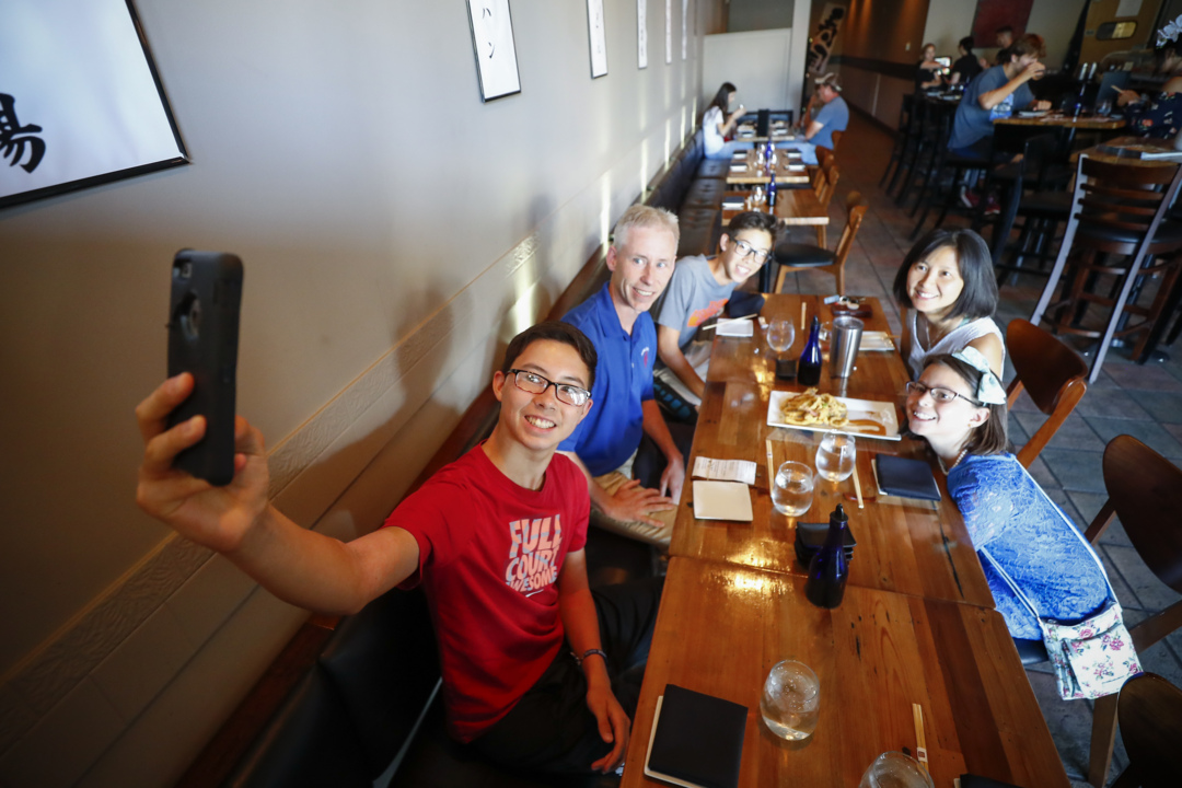 Family goes to 26 different restaurants trying out 'alphabet dinners.' See where they went.
