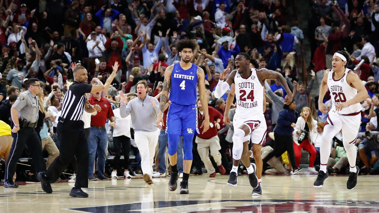Sestina sees Kentucky bouncing back from loss: 'We're a tough team'