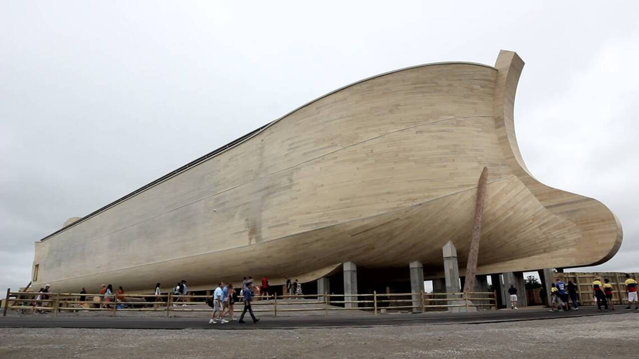 Visitors aren't flocking to the Kentucky Ark Encounter as