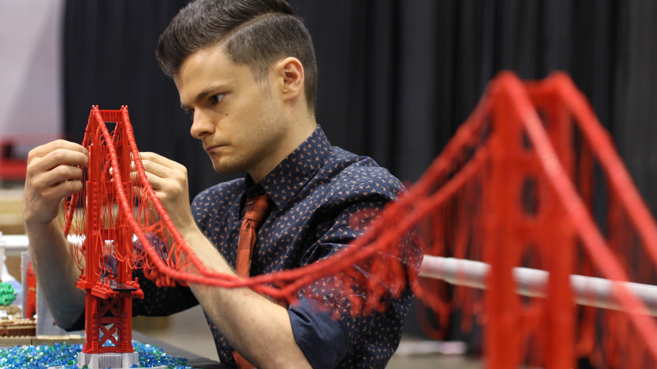 Bricks aren't just for kids: LEGO conventions attract artists, collectors