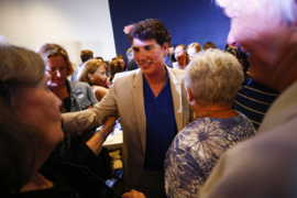 'Let's go win another.' Amy McGrath's victory speech.