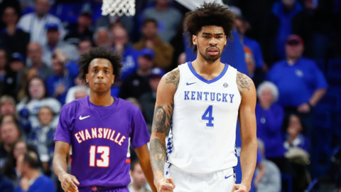Nick Richards says UK trying to figure itself out after Evansville loss