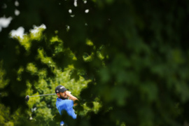 Photo slideshow: 4-way tie for the lead at PGA Tour's Barbasol Championship