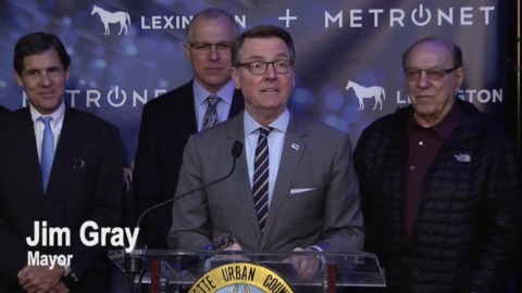 How will Mayor Jim Gray be remembered? He inspired Lexington to think big.