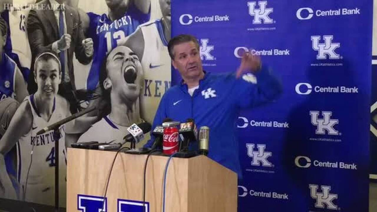 John Calipari doesn't think anything has changed with UK's ...