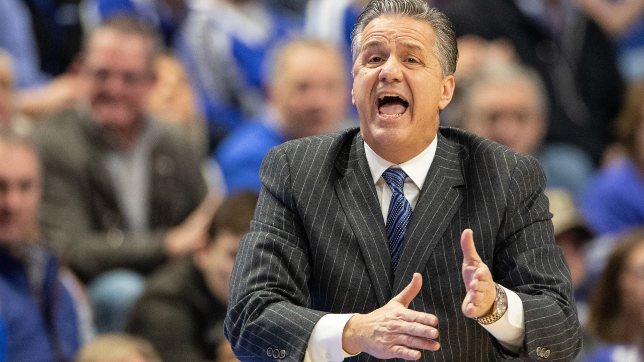 Calipari calls for Sestina to become 'hungry man' for Kentucky. 'Prove who you are.'