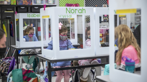 FCPS welcomes K-2 students for in-person school