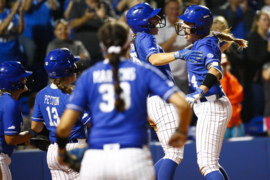 Photo slideshow: Kentucky softball defeats Notre Dame in NCAA Tournament regional